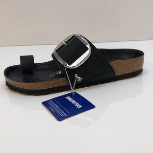 4310357b9835 Birkenstock Shoes - Birkenstock Miramar Big Buckle Black Size 38